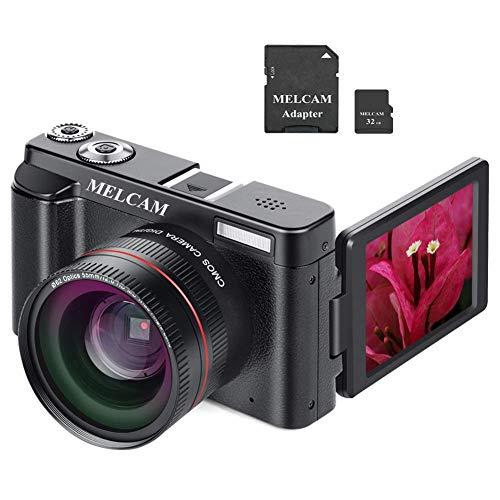 Videocamera Digitale FHD 1080p 24.0MP 30FPS,Videoregistrazione WiFi, con obiettivo grandangolare e...