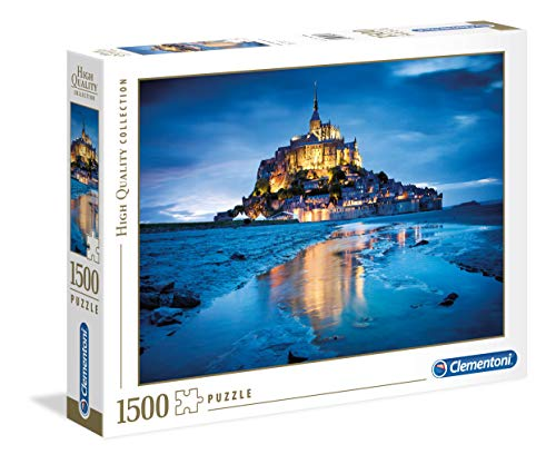 Clementoni - 31994 - High Quality Collection Puzzle - Le Mont Saint-Michel - 1500 Pezzi