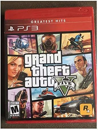 Grand Theft Auto V, GTA 5 PS3 (PlayStation 3, 2013) Greatest Hits