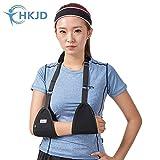 Triangle de l'écharpe médicale d'immobilisation épaule Rotator Brassard poignet Coude avant-bras support Brace Sangle avec rembourrage souple confortable léger simple pour cassé et Fractured Bras