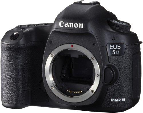 Canon EOS 5D Mark III - Cámara réflex digital (22 MP, Sensor CMOS Full Frame, Procesador DIGIC 5+) (Cuerpo) color negro [importado]