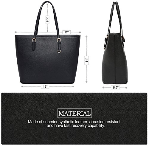 dff004d713 VECHOO Women s Handbags Ladies Tote Large Capacity Shopping Bags ...