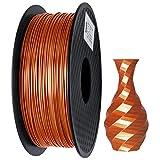 PLA Filament 1.75mm Silk Copper, GIANTARM Imprimante 3D Filament PLA 1kg Spool