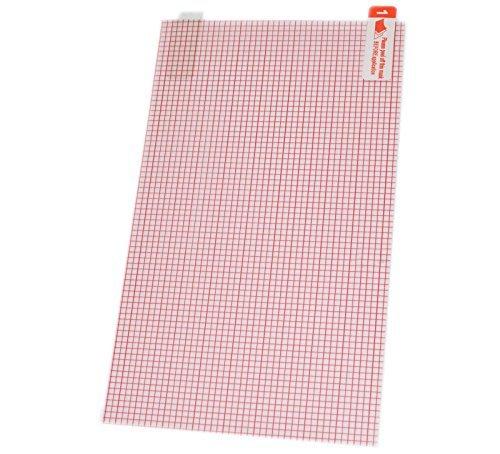 SET di 4 x Pellicola 15,3 x 8 cm Ritagliabile con Griglia Protettiva Salva Schermo Universale per Cellulari Smartphone Tablet 7 Pollici di Gi.Str