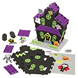 3D Foam Haunted House Kit Creative Set for Children to Make Decorate and Display as Halloween Crafts