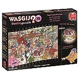 Jumbo 19157 Wasgij Destiny 18-Fast Food Frenzy 1000 Piece Jigsaw Puzzle