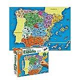 Diset- Puzzle Provincias-Autonomías137p Juguete educativos Provincias De España, (68942)