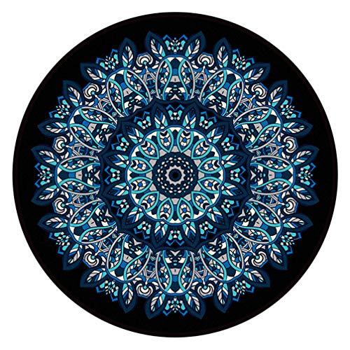 IMON LL TappetiTappeti Tradizionali Rotondi Originali, Tappeto retrò Mandala Disponibile in Altri...