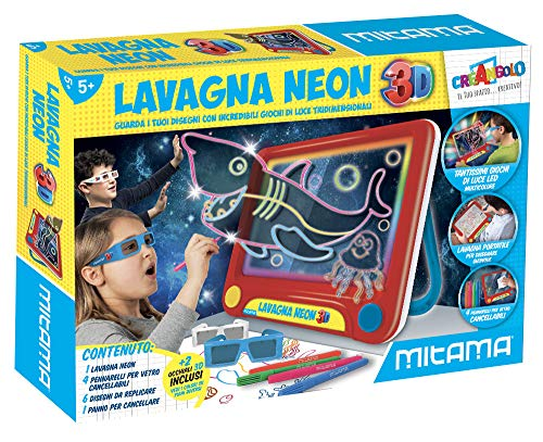 Mitama Lavagna Magica 3D-Creangolo, 62502