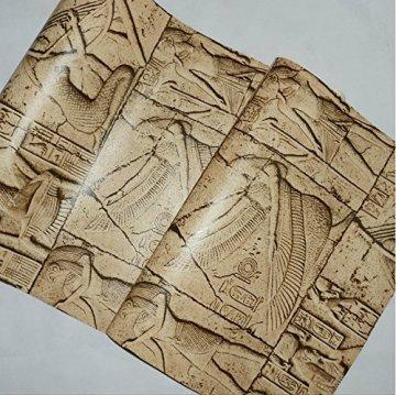 HEYUN& Egipto Modelo del papel pintado imitación talla personajes reales gráfico arte de la pared del cine y la televisión 4