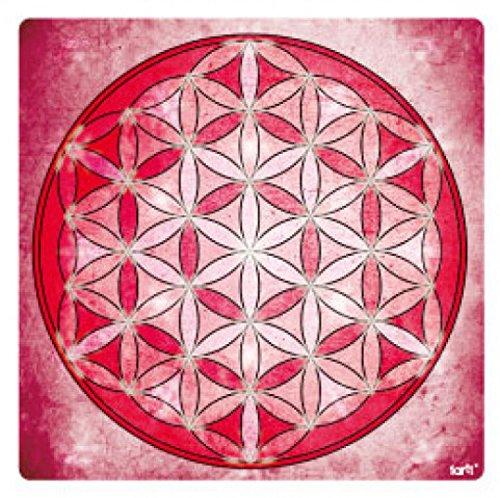 Mandalas - La Flor De La Vida, Elemento Aire Pegatina Vinilo Autoadhesivo (9 x 9cm)