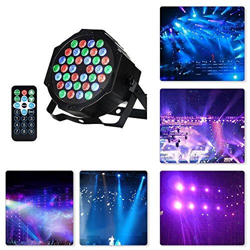 luci discoteca,Faro rgb faretto par led 36w 36 leds colorl effetto discoteca luce da palco luci dj...