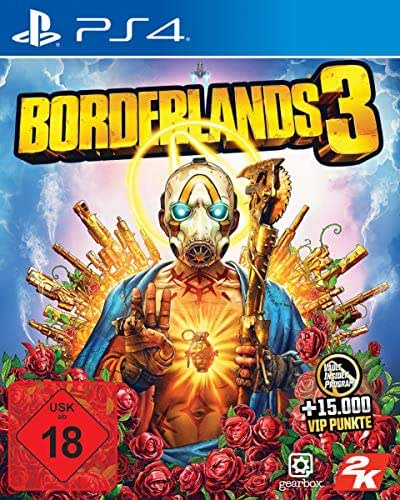 Borderlands 3 Standard Edition mit 15.000 VIP Punkten (nur Amazon Retail Angebot) - [PS4]