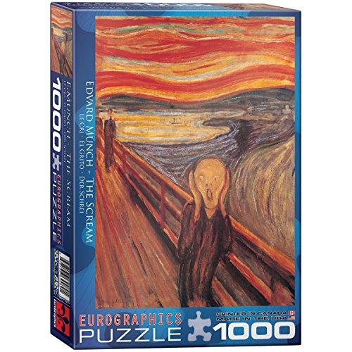 Eurographics 04489 - Munch: L urlo - Puzzle 1000 pezzi