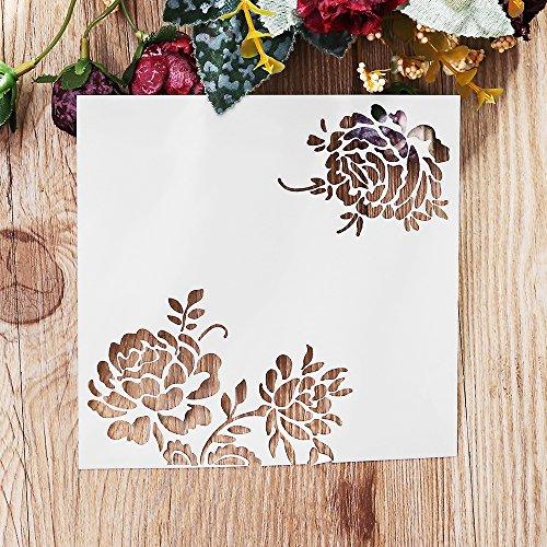 MASUNN Blooming Fiore DIY Taglio Scrapbook Carta Foto Album di Carta Goffratura Craft Decorazione