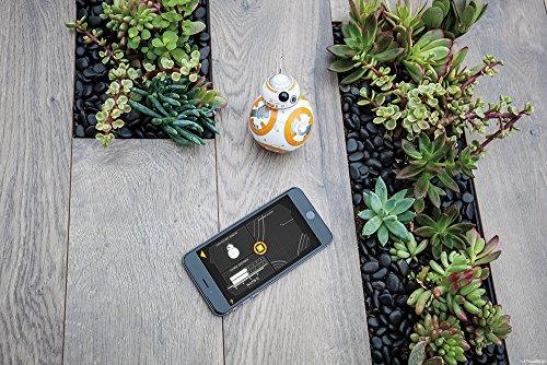 613h8JBTuFL - Sphero R001ROW, Robot electrónico droide BB-8 Star Wars (R001ROW)