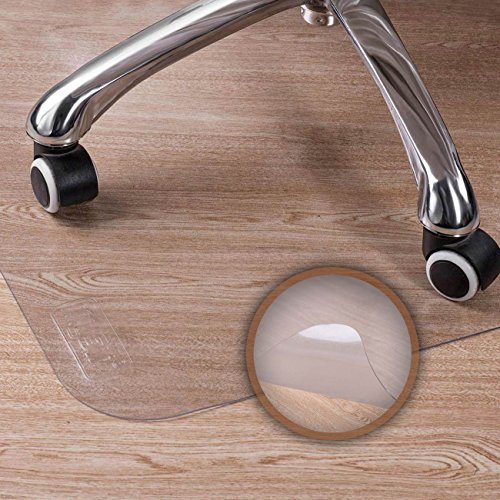 MY SIT Tappeto salvapavimento Tappeto per Sedia da Ufficio per Pavimenti duri PVC Protezione...