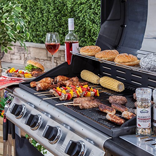 All things considered, this gas BBQ from Fire Mountain provides a good balance of quality and price, which explains why it is a popular choice for many consumers as well as why we chose it as our 'best pick'. If you still need a cheaper option, the next product makes a good choice.