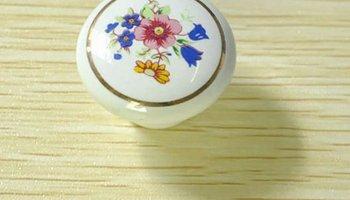 Pomelli Per Credenza Vintage : Bqlzr 25 x 23 mm antico bronzy fiore maniglia rotonda armadio da