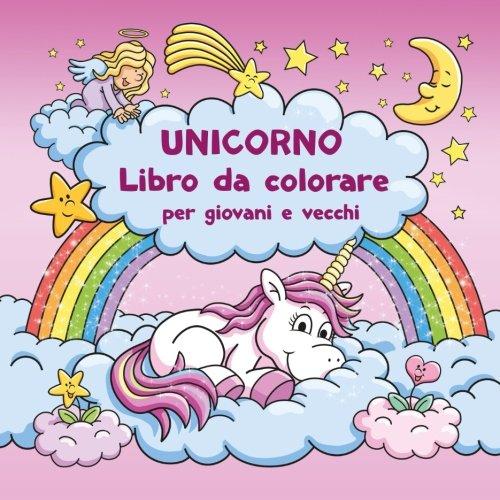 Unicorno Libro da colorare per giovani e vecchi + BONUS: Modelli gratuiti di disegno unicorn (PDF da...