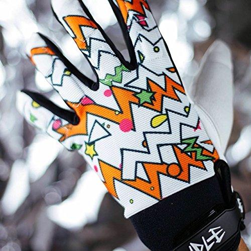IDLE Slide Gloves - Guanti Di Diapositive (White, L/XL)