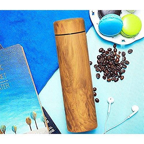 """Today's Deal"""" Hot & Cold Coffee vacuum 500ml thermos thermo travel tea & Coffee with filter Colorful Design(Color as per availability)"""