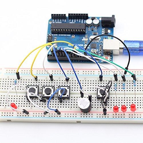 6165  ebv2L - SunFounder Starter Learning Kit para Arduino Principiante