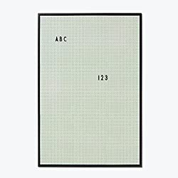 Design Letters - Messageboard - Nachrichtentafel - Pinnwand - Grün - A2
