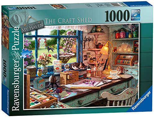 "Ravensburger ""My Haven n°1""The Craft Shed Puzzle da 1000 Pezzi"