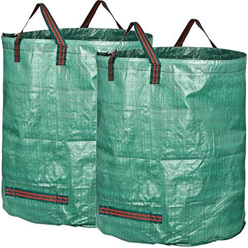 GardenMate 2X 500l Gartensack Professional aus robustem Polypropylen-Gewebe (PP)