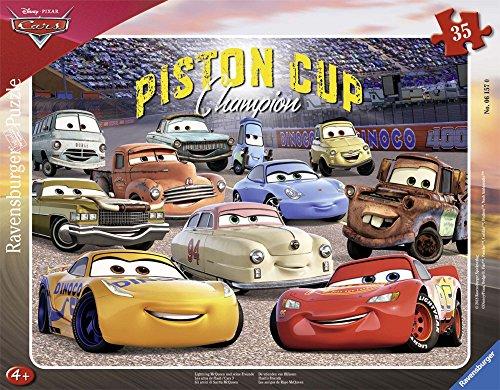 Ravensburger Italy- Disney Cars 3 Puzzle Incorniciato, 06157
