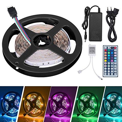 LED Striscia 5M RGB 5050,Duractron led striscia 150 led per Natale,Feste, Decorazioni.(Non...