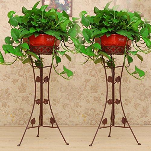 Estantes para plantas / estanteria jardin Estante de la flor del arte del hierro, Soporte de exhibición en de la planta en conserva,al aire libre / interior para el estante de la exhibición de la mace