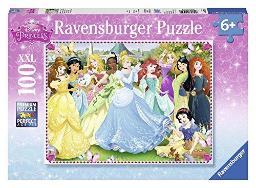 Ravensburger 10570 0 - Princess Puzzle Super, 100 Pezzi, Cartone