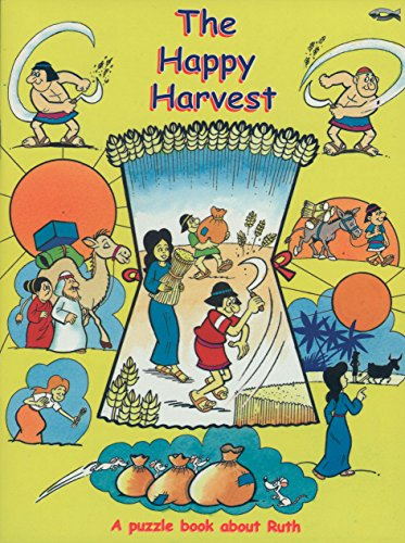 The Happy Harvest: A Puzzle Book About Ruth