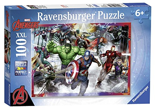 Ravensburger Italy Puzzle per Bambini Avengers, 100 Pezzi 10771