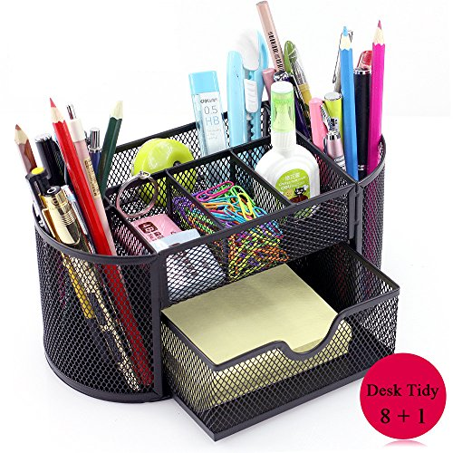 vonimus desk tidy mesh specific caddy desk organiser