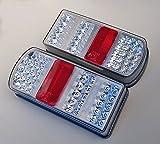 2 x LED Rückleuchten Set Heckleuchte 12 V für PKW Anhänger Rücklicht Leuchten Hochwertig