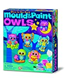 4M - Mould & Paint Glow Owls (004M4654)