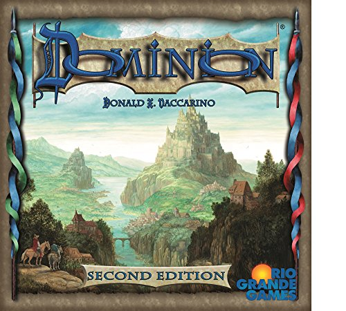 "Rio Grande Games rgg531""dominio segunda edición juego"