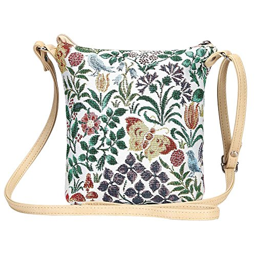 Signare tapiz bolso de la honda bandolera cartera Flor de primavera