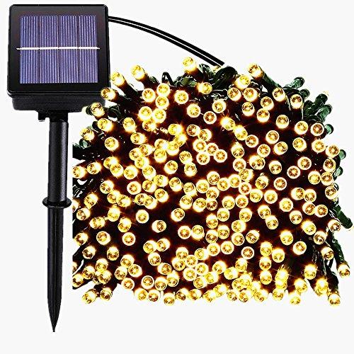 200 luci della stringa solare del LED, impermeabile illuminazione Fata esterno per Natale, Casa,...