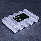 Bonytain 100pcs/Coin box 27 mm rotondo in scatola porta capsule di plastica Storage display Cases organizer