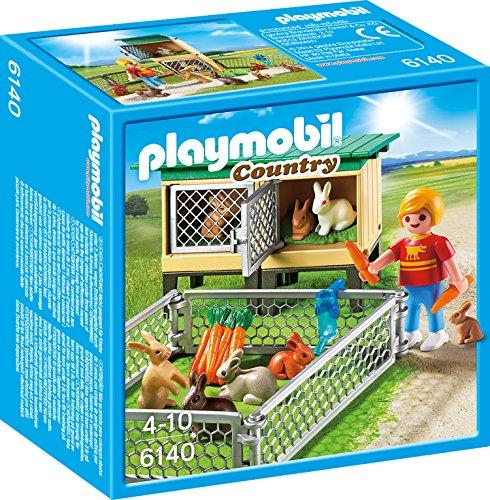 PLAYMOBIL Hasenstall mit Freigehege 6140