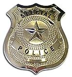 Police Badge - Silver