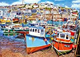 Gibsons Mevagissey Harbour Jigsaw Puzzle, 1000 piece