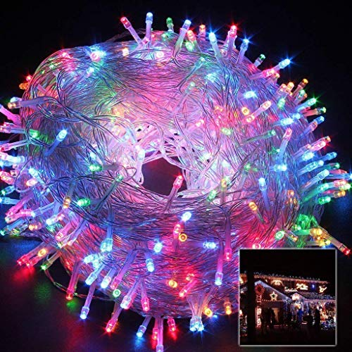 XODI LED Copper Waterproof String Light (85 Feet or 25 Meter)    (Multicolor)    Rice Light    for Diwali, Indoor, Outdoor, Yard, Garden, Path, Christmas