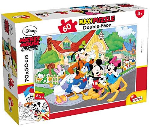 Lisciani Giochi- Mickey Puzzle DF Supermaxi 60, 66728.0