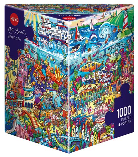 Heye 29839 Magic Sea, Berman Triangular Puzzles