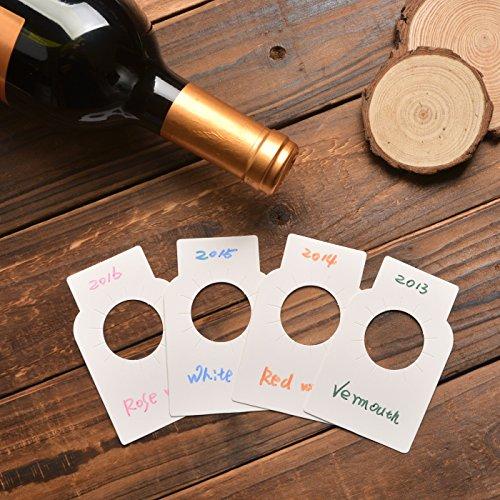 Etichette della bottiglia di vino del Libro Bianco - etichette della cantina per vini della carta...
